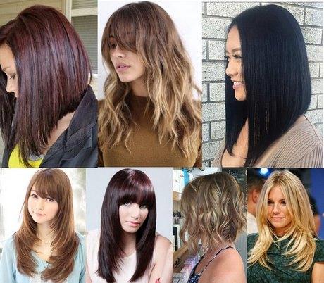 Haircut közép-vagy hosszú haj